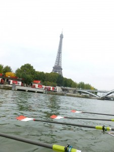 Rowing on the Seine